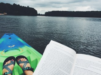 I am so at rest when I spending time in his word and on the water.