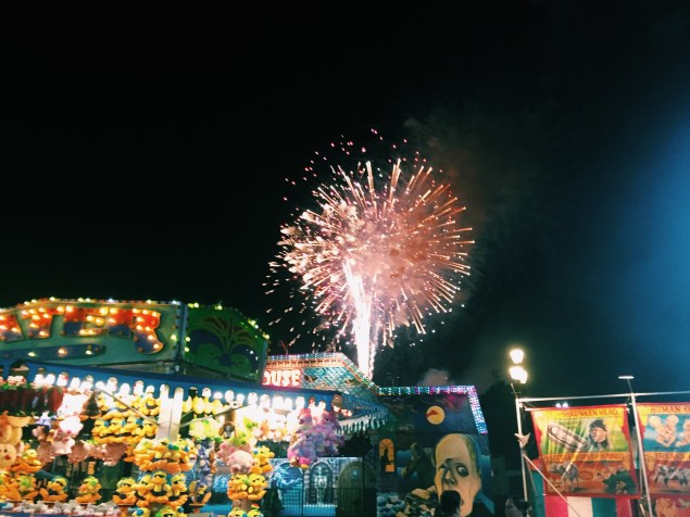 Fireworks remind me of how explosive our love for him should be.