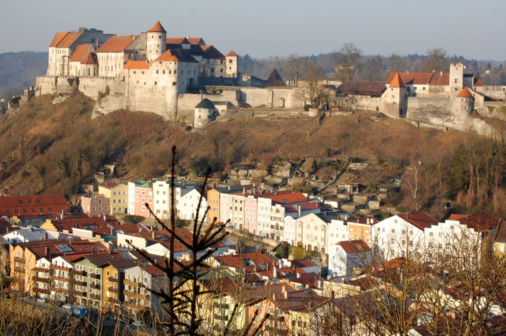 Burghausen Castle and Old Town - Bavaria