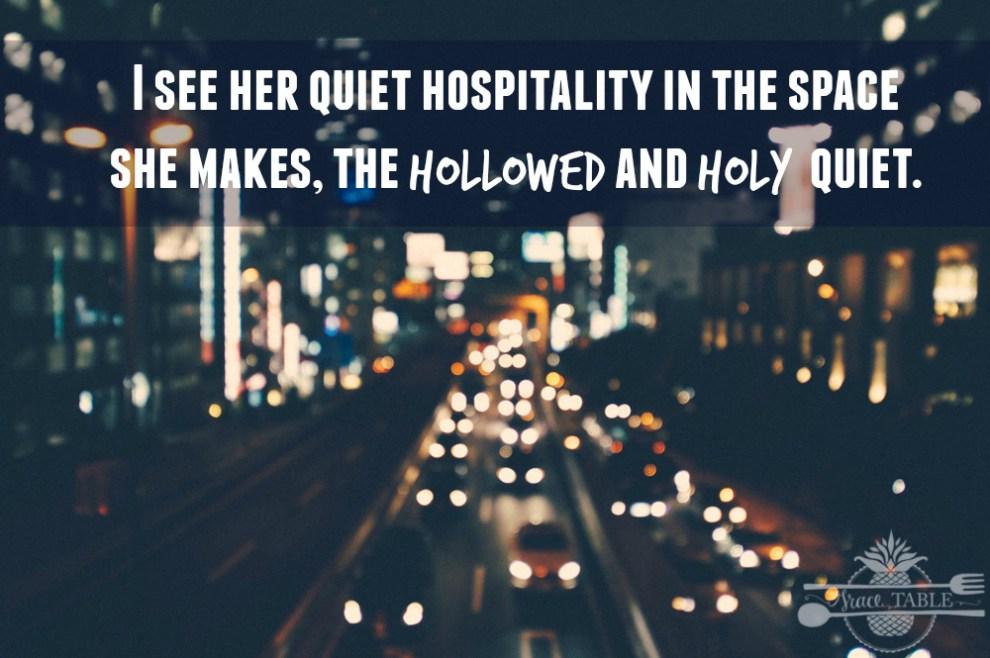 Quiet Hospitality