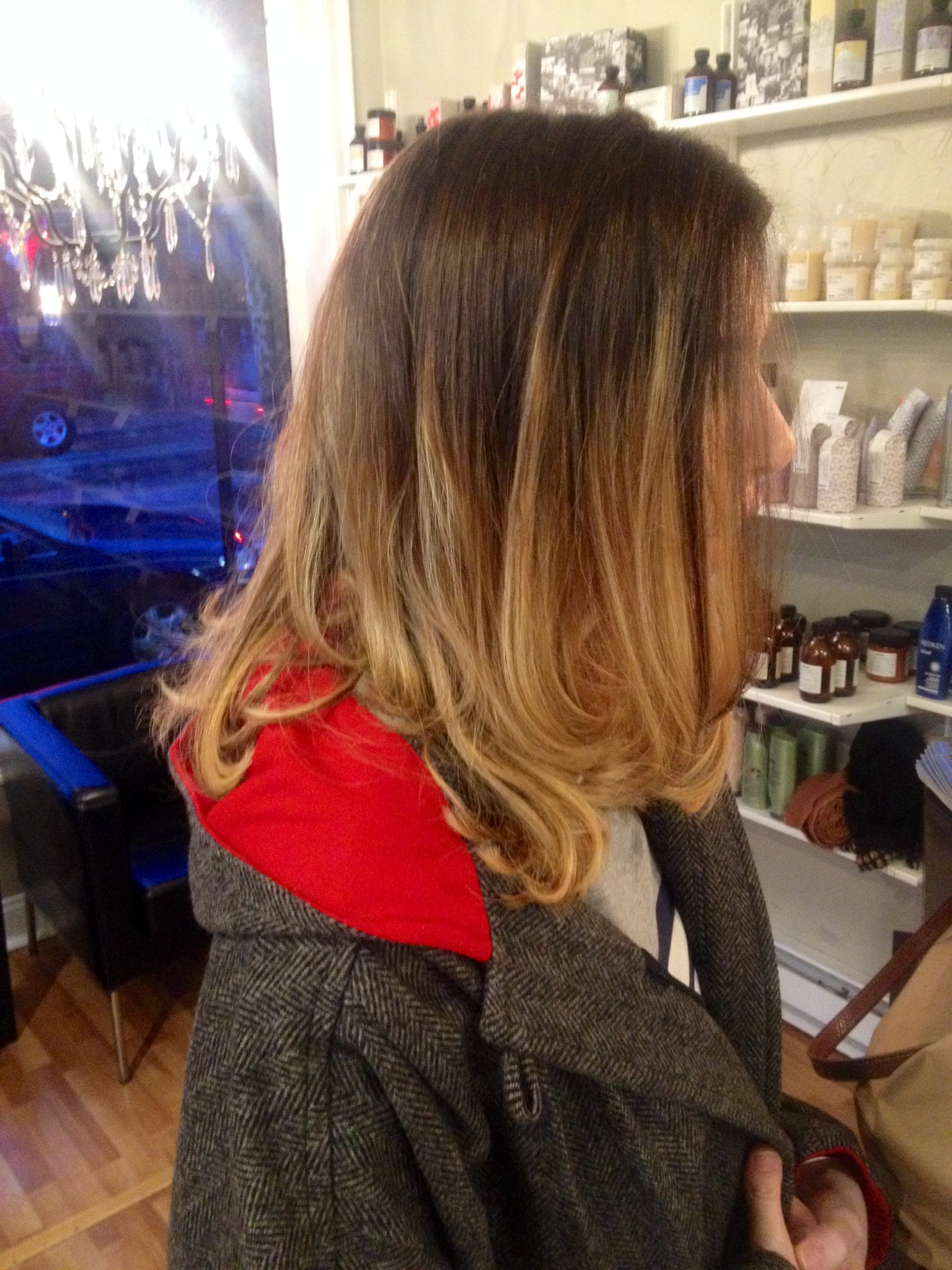 Sombres Ombres Balayage And Flamboyage Grace To Create