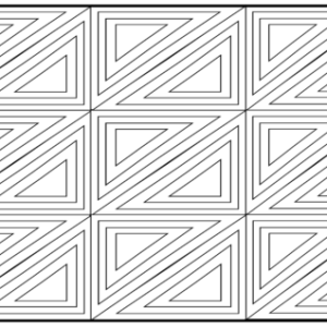 geometric adult coloring page