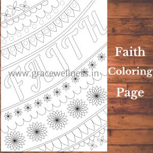 faith coloring pages pdf