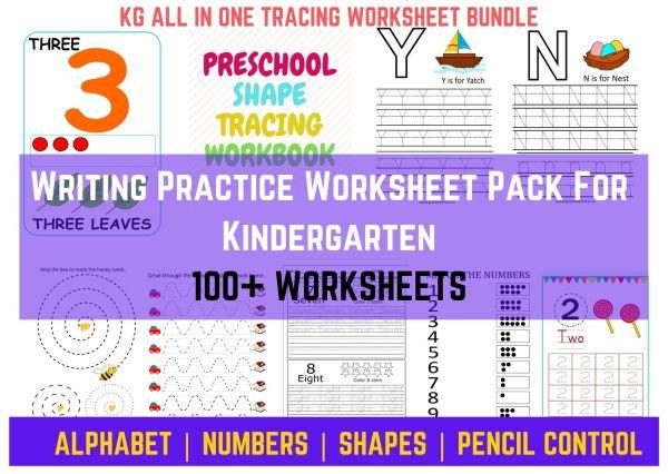 writing practice worksheets printable