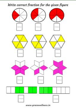 2nd grade fraction worksheet pdf