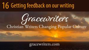 Sunrise with text of Gracewriters podcast episode 16