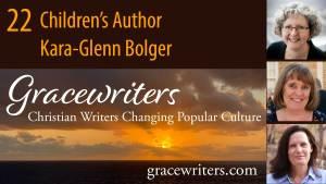 Sunrise over the ocean with episode title - Children's Author Kara-Glenn Bolger