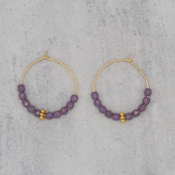Hoops Purple Bali