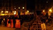 La manifestació a la la Virreina