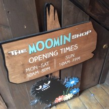 The Moomin Shop in Covent Garden- I absolutely love the Moomins after my dad reading the stories to me since I was really young!