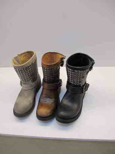 ASH Italian leather boots