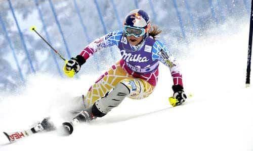 Lindsey Vonn - skiing