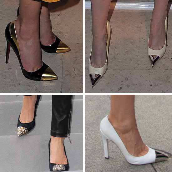 Pointed metal Tip courts Louis Vuitton 1
