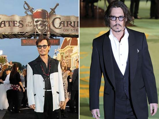 Johnny Depp - Honoured With A CFDA Style Icon Award