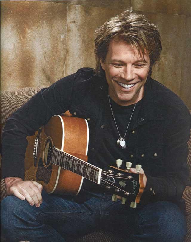Jon Bon Jovi - Still Rocks In His Fashionable Way