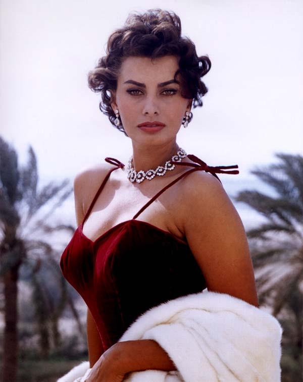 Sophia Loren in swimwear