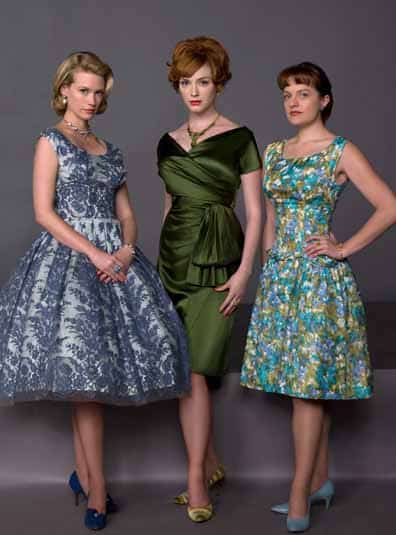 Betty, Joan, Peggy, christina hendricks ,madmen, 1960's