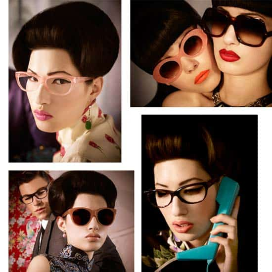 Cutler & Gross Retro styles sunglasses advertising Campaign