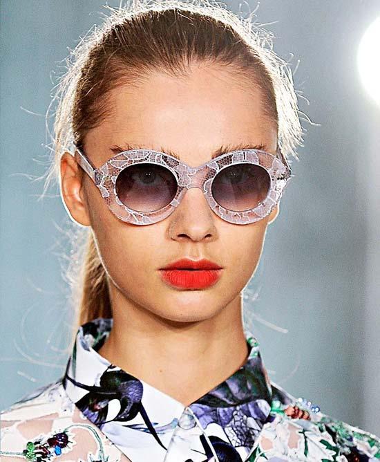 Cutler & Gross Erdem sunglasses advertising Campaign