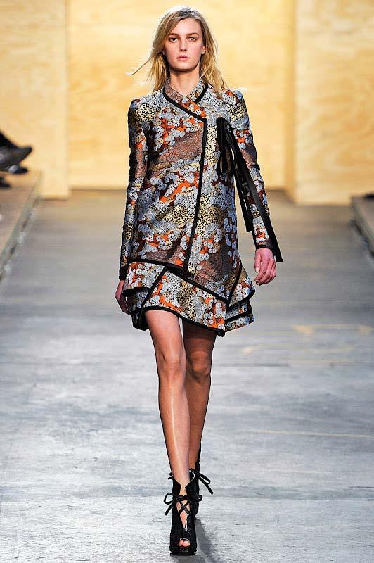 Proenza,Schouler 2012 winter collection,gracie opulanza