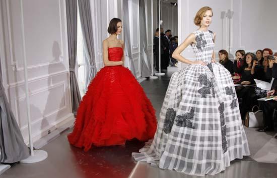 corset dresses, 2012 haute couture