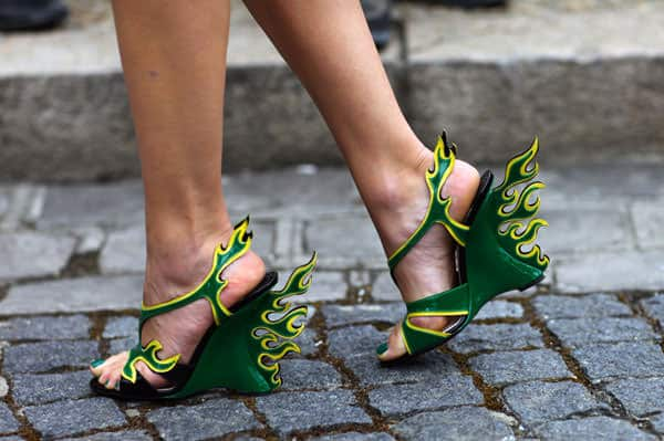 green_prada_cars_shoes,flame-2012