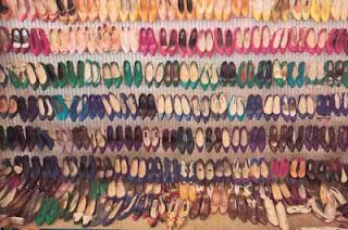 Imelda Marcos some of her shoes