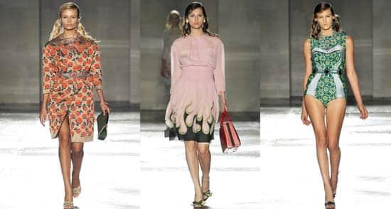 prada 2012 spring, summer collection,gracie opulanza