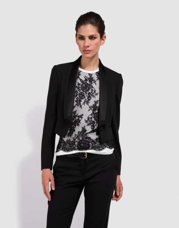 Dolce-Gabbana-Womens-Black-Blazer