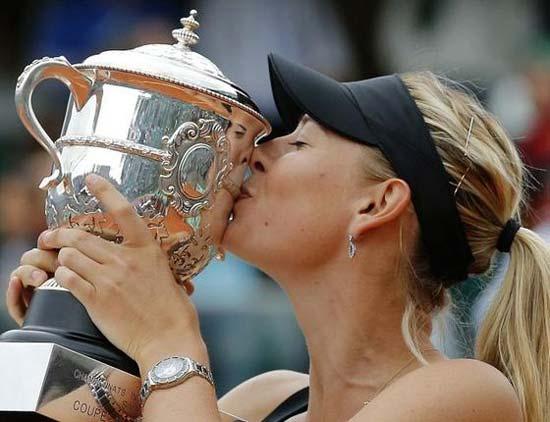 Maria Sharapova grand slam Tennis 2012