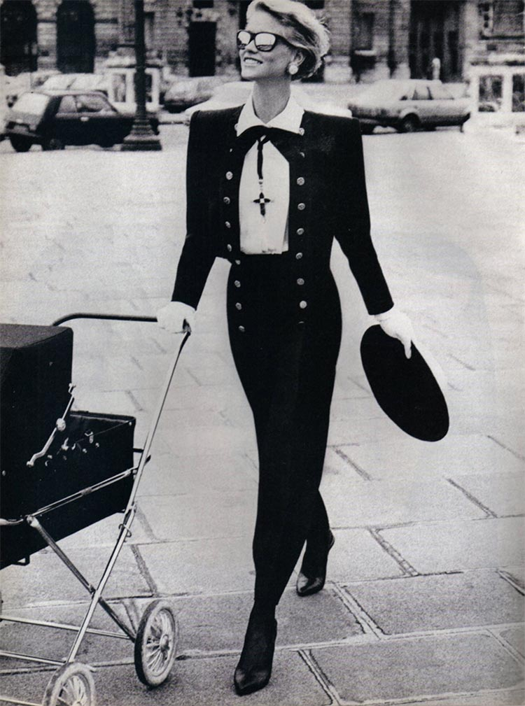Yves Saint Laurent 1994 suit