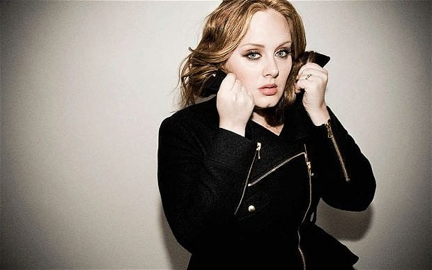 adele wearing jacket, plus size