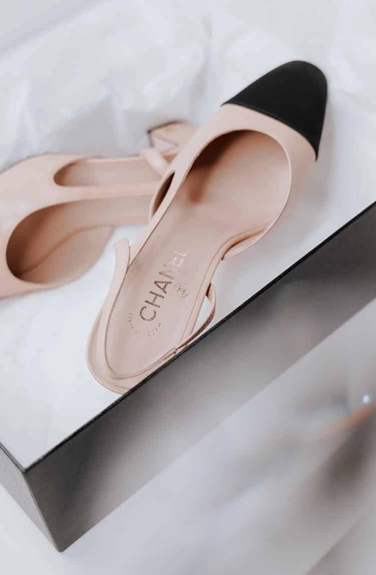 Chanel Stiletto Heeled Shoes