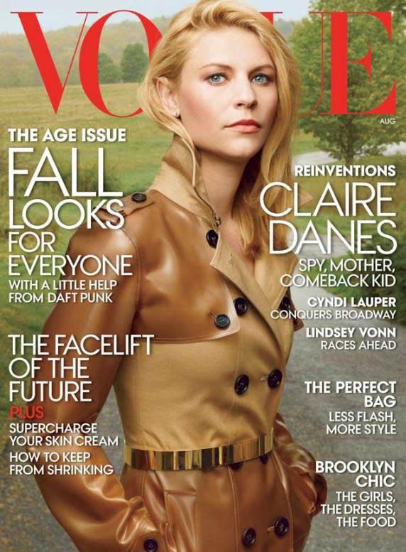 Lindsey Vonn Vogue - Cover August 2013 Edition