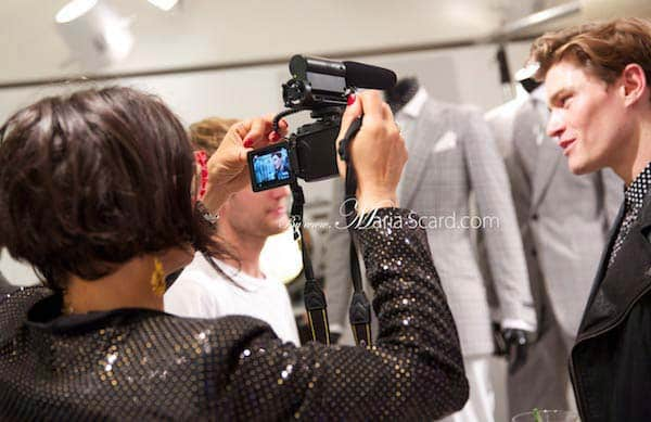 Gracie Opulanza Interviewing Oliver Cheshire