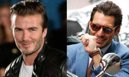Britains Male Fashion Icons – David Gandy & David Beckham