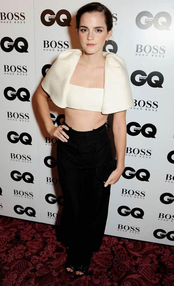 Emma-Watson - GQ Men Of The Year Awards 2013
