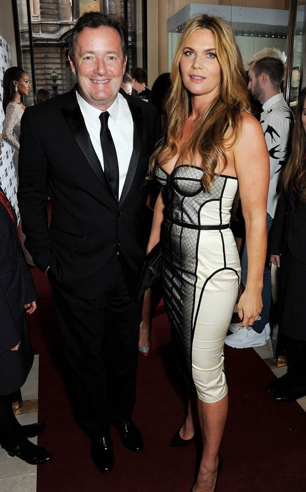Piers-Morgan-and Celia Walden GQ Men Of The Year Awards 2013