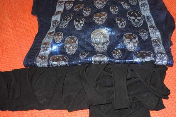 Skullhead T-Shirt, Calzedonia leggings