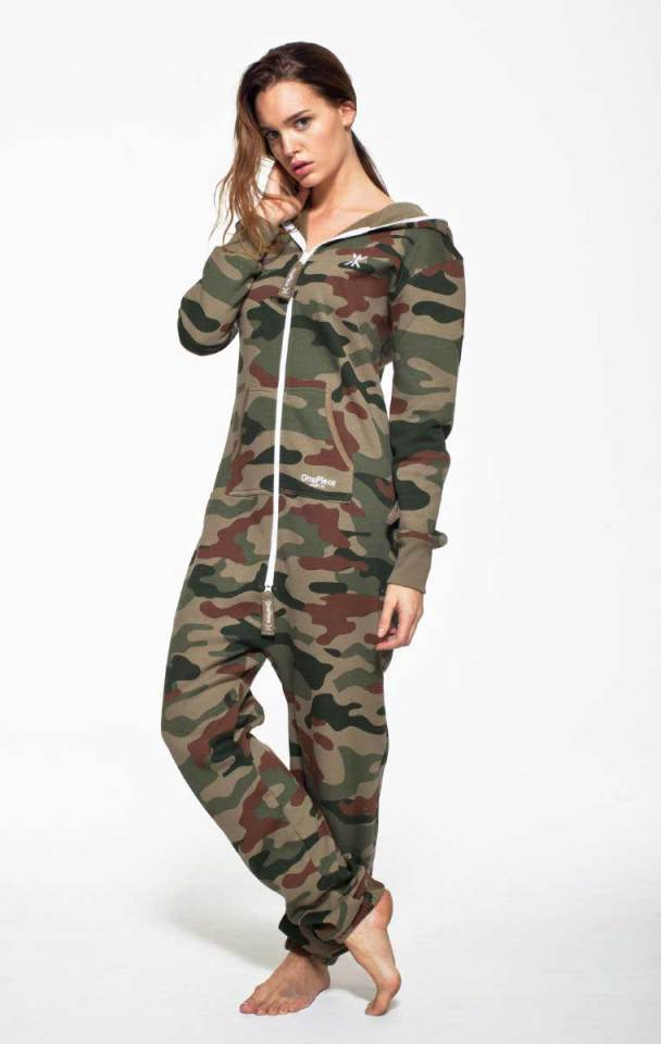onepiece camouflage