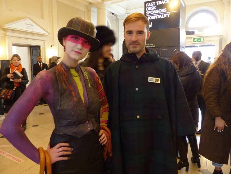 Body Art Gracie Opulanza - London fashion Week