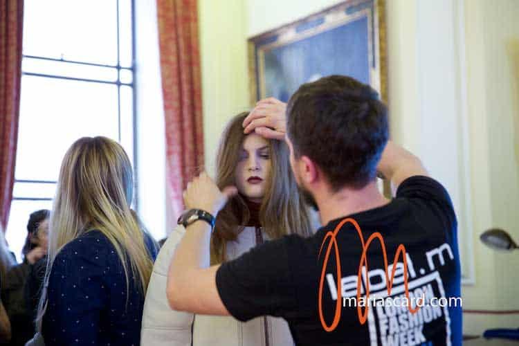 abel M Toni & Guy Backstage London Fashion Week 2014 Womens Hairstyles