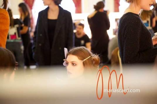 Dark Lipstick - London Fashion Week - Toni & Guy 2014