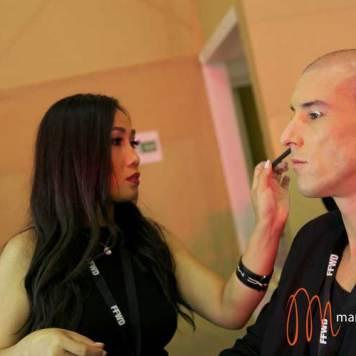 Dubai Fashion Week 2014 MAC make up