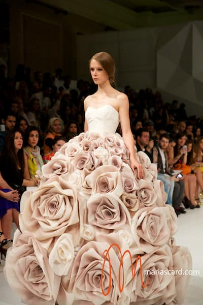 Dubai Fashion Forward 2014 – Jean Louis Sabaji Couture