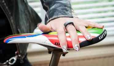 Santa Cruz Cycles - bespoke nails Dana Taylor