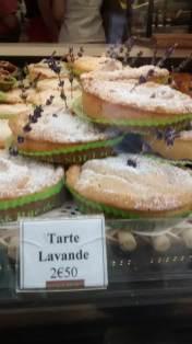 tart lavender france