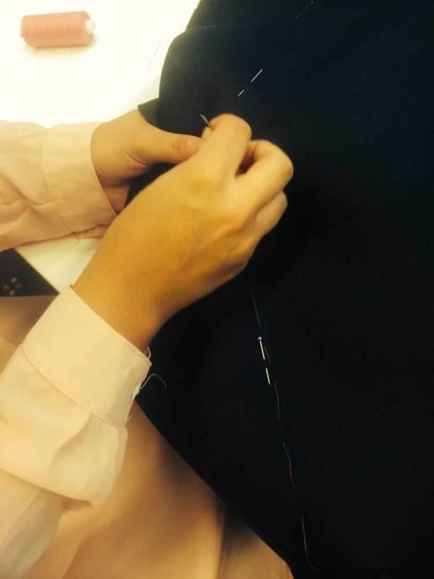 Becky Baeling Lythgoe Monique Collignon Haute Couture Oscars-2015-(10)