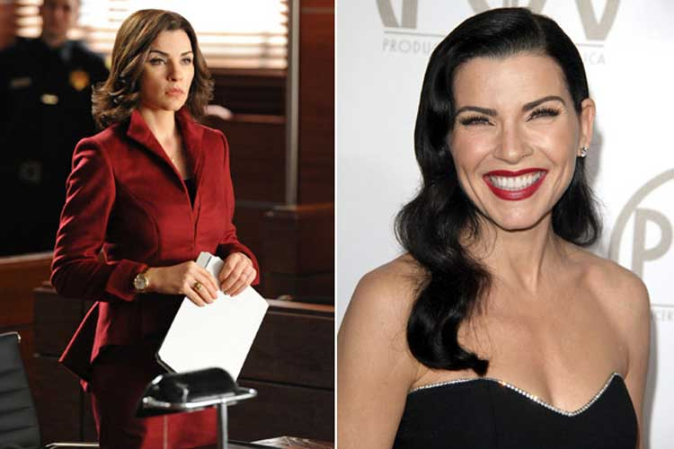 Julianna Margulies Plays Alicia Florrick - Laywer in The Good Wife