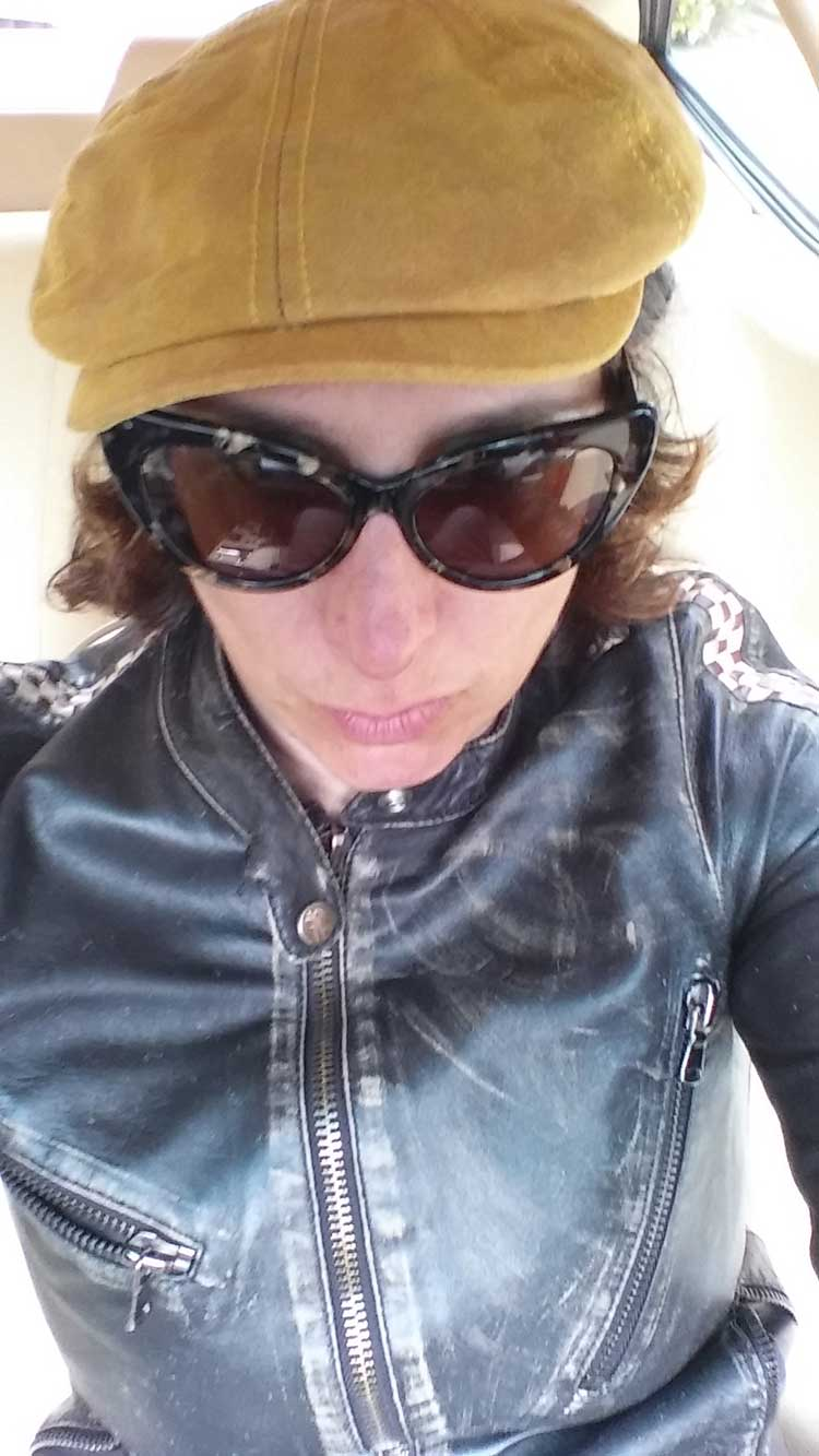 gracie opulanza stetson leather beret hat